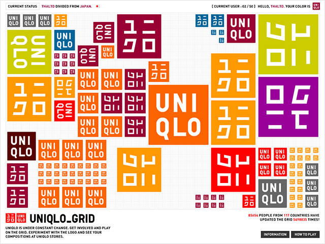 UNIQLO GRID
