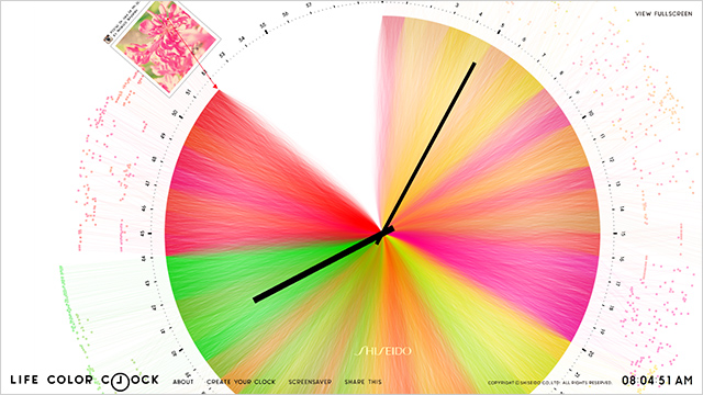 LIFE COLOR CLOCK